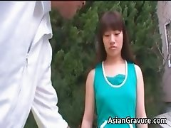 NAsty brunette asian girl knows how part4