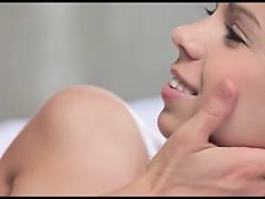 Shaved girl in insane erotic movie