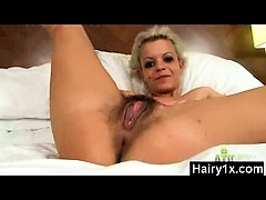 Passionate Hairy Gal In Vigorous Porno