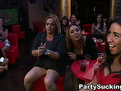 Crazy Girls at Strip Club