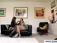 Hot mature british stockings lesbian oral sex
