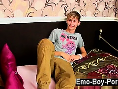 Hot gay Connor Levi is one slender and fantastic British boy who has a