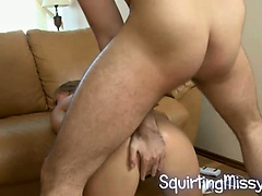gushing cunt anal fucked