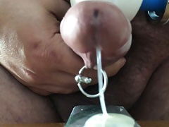 POV Cumshot with Magic Wand