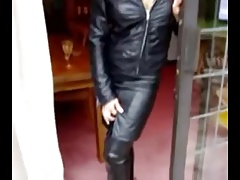 BLACK THIGH HIGH HEEL BOOTS 3