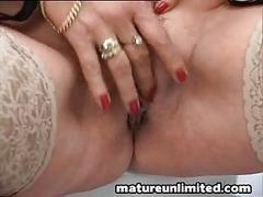 Housewife masturbation close up