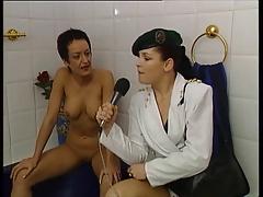 Susana De Garcia - masturbating in the bathtub