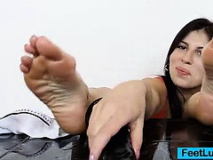 Fuckable foot of Fernanda