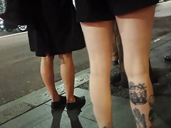 Bare Candid Legs - BCL#007